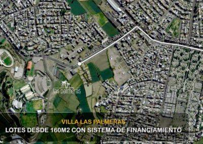 Ubicación Villa Las Palmeras